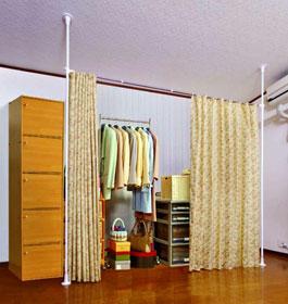 つっぱり式カーテン使用イメージ2