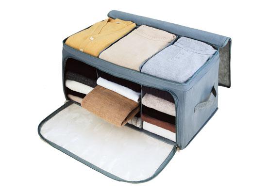 たっぷり片付けられる衣類収納ケース