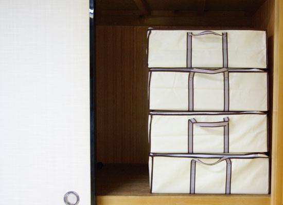 押入れに入る布団圧縮袋
